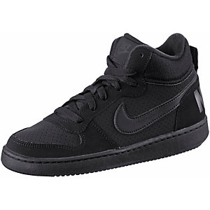 Nike Court Borough Sneaker Kinder schwarz