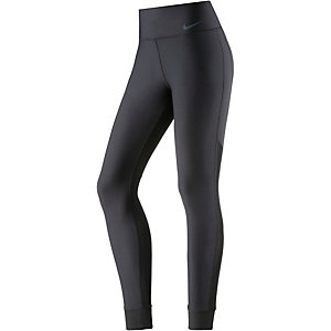 Nike Power Legend Veneer Tights Damen schwarz