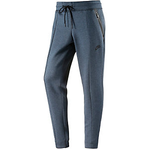 Nike Tech Fleece Knit Trainingshose Damen blau