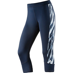 adidas Techfit Tights Damen navy/blau