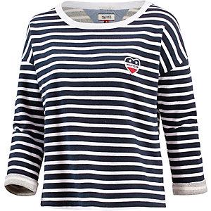 Tommy Hilfiger Sweatshirt Damen dunkelblau/weiß