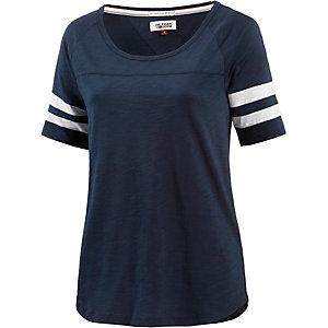 Tommy Hilfiger T-Shirt Damen navy/weiß