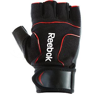 Reebok Fitnesshandschuhe Herren schwarz/rot