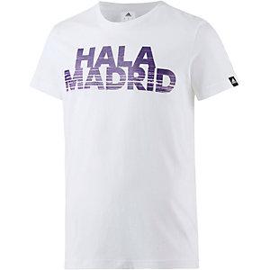 adidas Real Madrid Fanshirt Herren weiß
