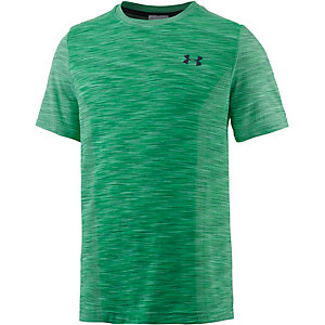 Under Armour HeatGear Threadborne Funktionsshirt Herren grün