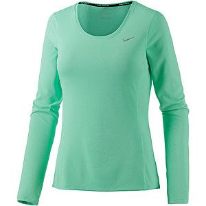Nike Dri-Fit Contour Laufshirt Damen türkis