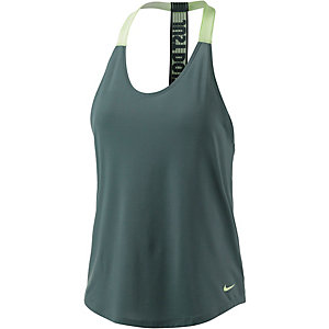 Nike Funktionstank Damen dunkelgrün