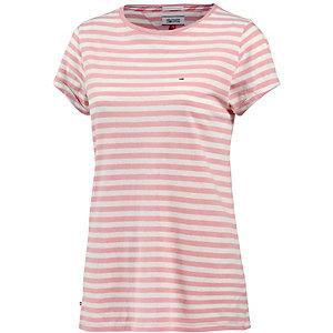 tommy hilfiger t shirt damen rosa wei im online shop von. Black Bedroom Furniture Sets. Home Design Ideas