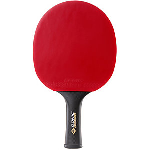 Donic-Schildkröt Carbotec 7000 Tischtennisschläger rot/schwarz