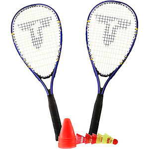 Talbot-Torro Speed 6000 Badminton Set blau/gelb