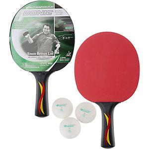 Donic-Schildkröt Speedy Fetzner 400 Tischtennis Set schwarz/rot/gelb