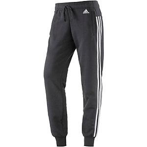 adidas Essentials Sweathose Damen schwarz/weiß