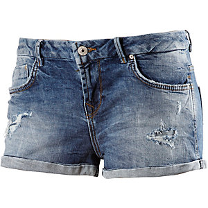 LTB Judie Jeansshorts Damen destroyed denim