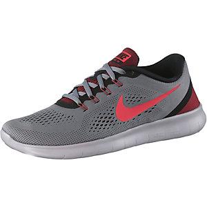 Nike Free Run Laufschuhe Herren grau/rot