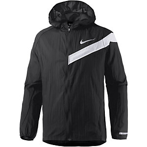 Nike Impossibly Light Hooded Laufjacke Herren schwarz