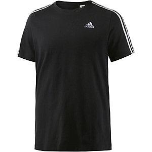 adidas Ess 3S T-Shirt Herren schwarz