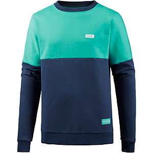 Mazine Sweatshirt Herren dunkelblau/hellgrün