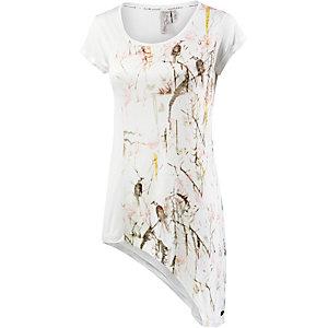 M.O.D T-Shirt Damen weiß/bunt