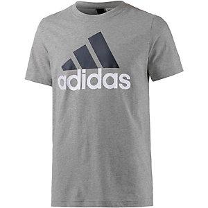 adidas Ess Linear T-Shirt Herren grau