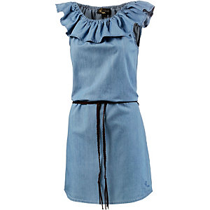 Mogul Jeanskleid Damen blau