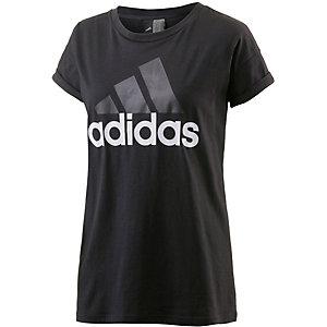 adidas Essentials T-Shirt Damen schwarz