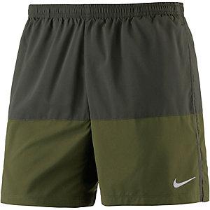 Nike Distance Laufshorts Herren oliv