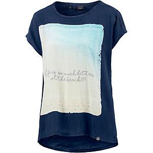 TIMEZONE Oversize Shirt Damen dunkelblau