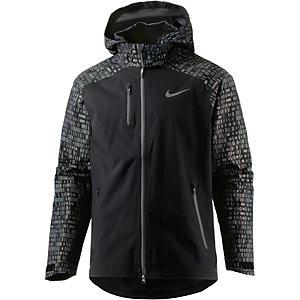 Nike Shield Flash Laufjacke Herren schwarz