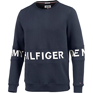 tommy hilfiger sweatshirt herren dunkelblau im online shop. Black Bedroom Furniture Sets. Home Design Ideas