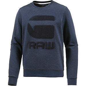 G-Star Sweatshirt Herren blau melange