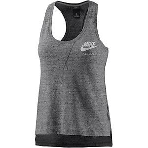 Nike Gym Vintage Tanktop Damen grau/melange