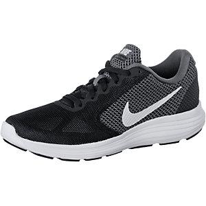 Nike Revolution 3 Laufschuhe Damen schwarz