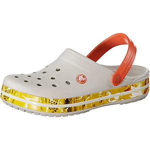 Crocs Crocband Tropical II Sandalen weiß/bunt