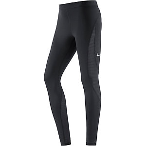 Nike Pro Hypercool Tights Damen schwarz
