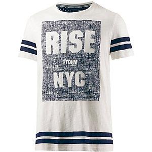 TOM TAILOR T-Shirt Herren offwhite