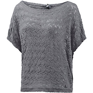 mogul strickpullover damen grau im online shop von sportscheck kaufen. Black Bedroom Furniture Sets. Home Design Ideas