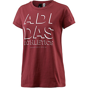 adidas T-Shirt Damen rot