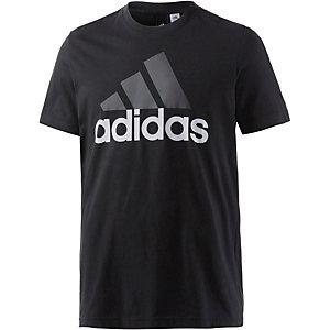 adidas Ess Linear T-Shirt Herren schwarz