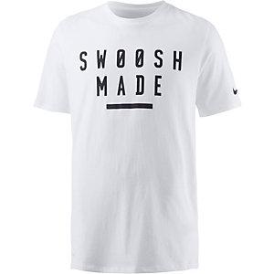 Nike Dry DF Swoosh Funktionsshirt Herren weiß
