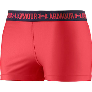 Under Armour Heatgear Tights Damen rot/navy