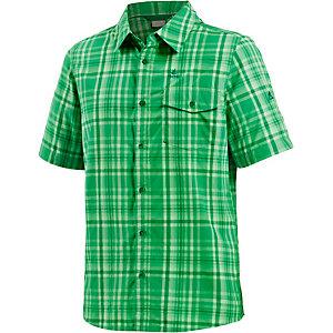OCK Funktionshemd Herren grün/weiß/kariert
