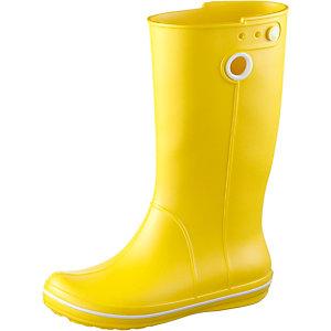 Crocs Crocband Jaunt Gummistiefel Damen gelb