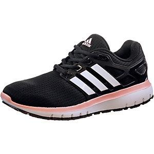 adidas Energy Cloud WTC Laufschuhe Damen schwarz/koralle