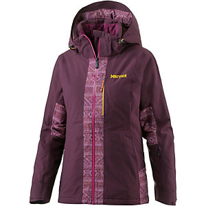 Marmot Catwalk Skijacke Damen dark purple/magenta chile