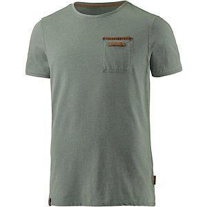 Naketano Suppenkasper VI T-Shirt Herren grün washed