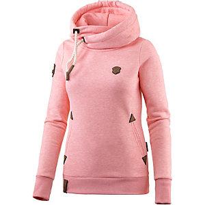naketano darth ix hoodie damen rosa melange im online shop von sportscheck kaufen. Black Bedroom Furniture Sets. Home Design Ideas