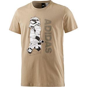 adidas Star WarsStormtrooper T-Shirt Herren beige