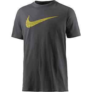 Nike Dry DF Swoosh Funktionsshirt Herren grau