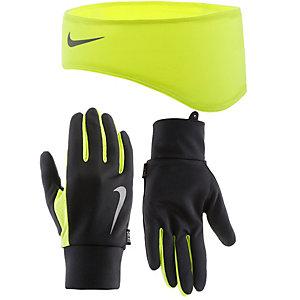 Nike Stirnband Herren schwarz/neongelb