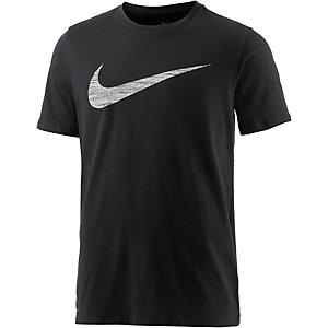 Nike Dry DF Swoosh Funktionsshirt Herren schwarz